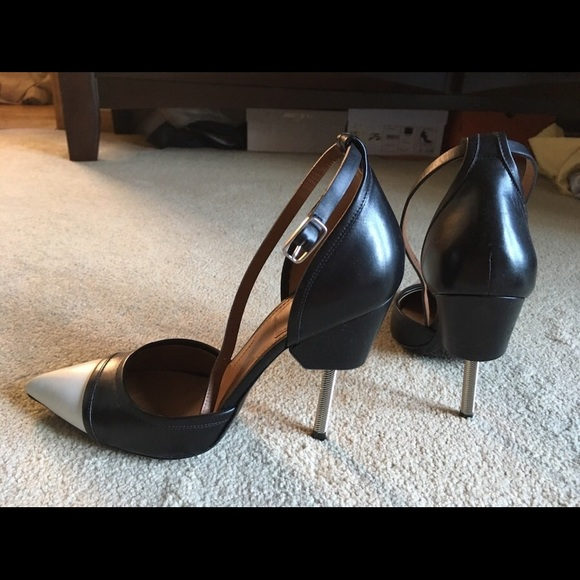 8ccfad8f3881f Givenchy Shoes | Screw Heel Black And White Pumps | Poshmark